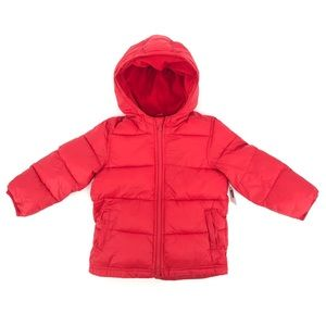 Old Navy Red Puffer Jacket Size 4T NWT